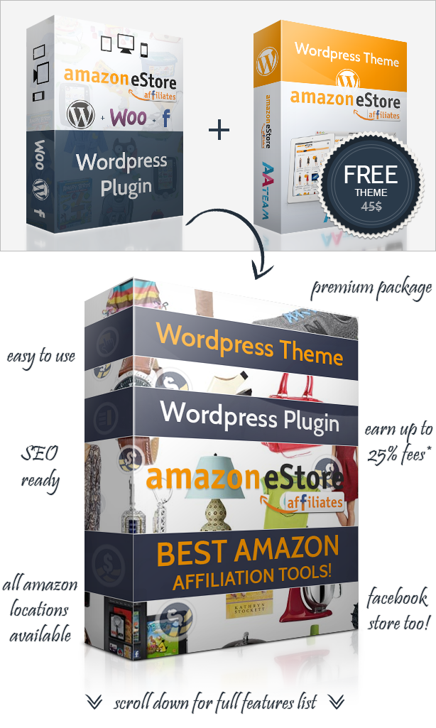 Kostenloses Amazon Plugin Wordpress