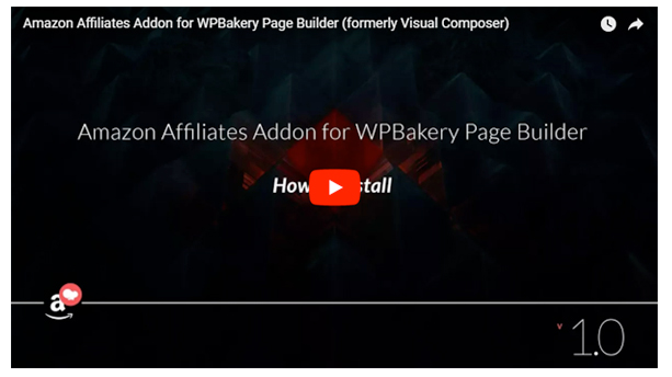 Amazon Affiliates Addon for WPBakery Page Builder (formerly Visual Composer) - 2