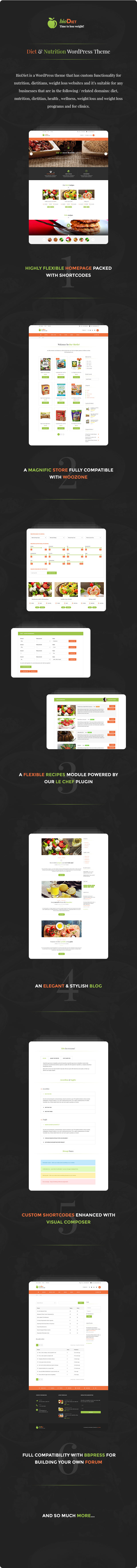BioDiet – Nutrition &amp Weight Loss WordPress Theme (Overall health &amp Beauty)