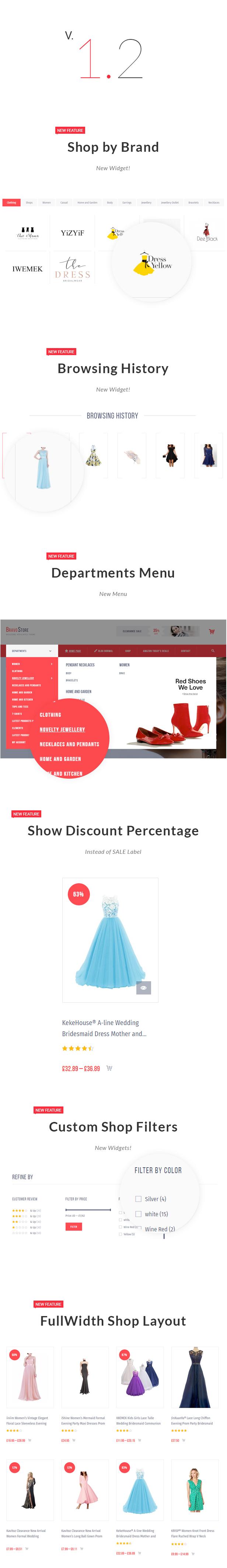 Bravo Store - WZone Affiliates Theme for WordPress - 1