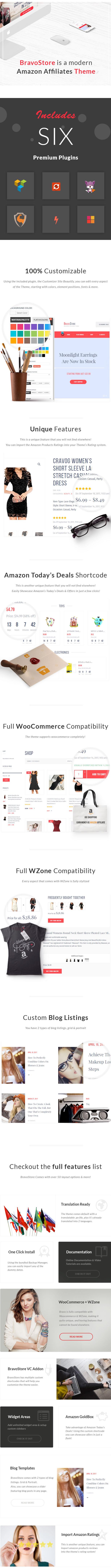 Bravo Store - WZone Affiliates Theme for WordPress - 2