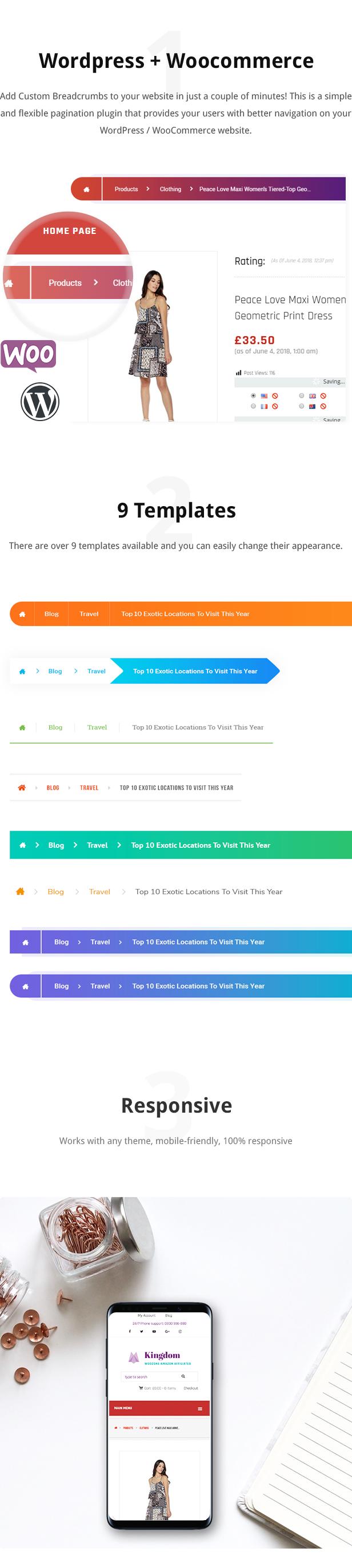 Plug-in de breadcrumbs personalizado para WordPress / WooCommerce - 1