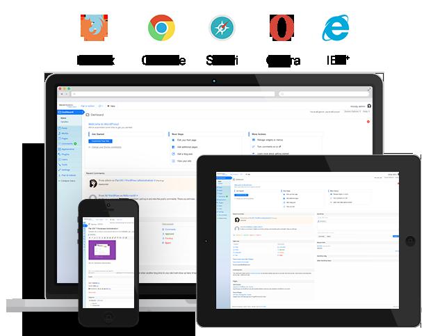 Rebrand WordPress Admin Theme - Modern Flat UI - 7