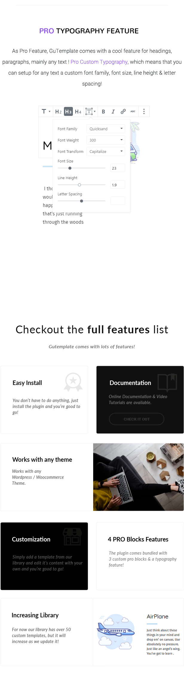 GuTemplate - Pro Templates Library for WordPress - 3