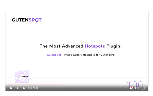 GutenSpot - Image Gallery Hotspots for Gutenberg - 4