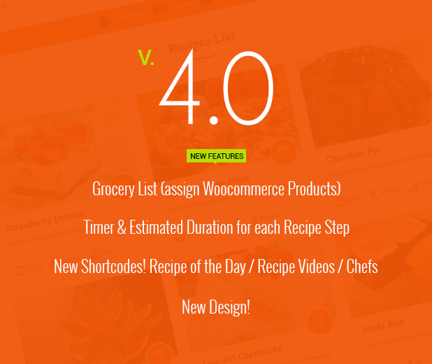 Le Chef - Premium Recipe Plugin - 1 Le Chef – Premium Recipe Plugin Nulled Free Download V4