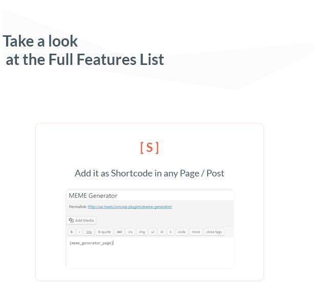 Ultimate Meme Generator - Plugin WordPress - 2
