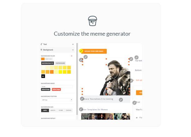 Ultimate Meme Generator - Plugin WordPress - 7