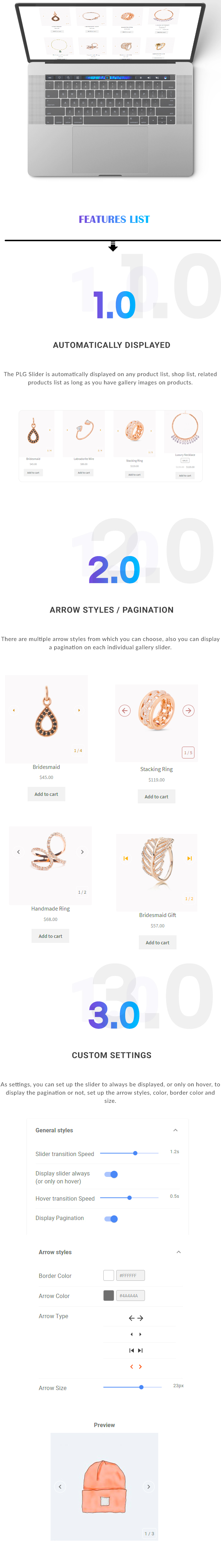 PLG - Products List Gallery Slider for WooCommerce - 1