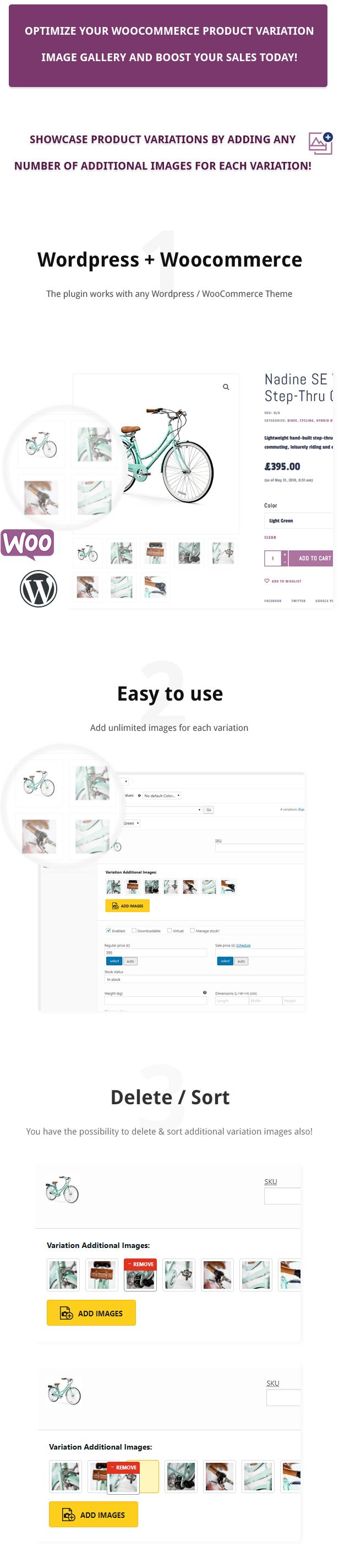 Additional Variation Images Plugin for WooCommerce Download
