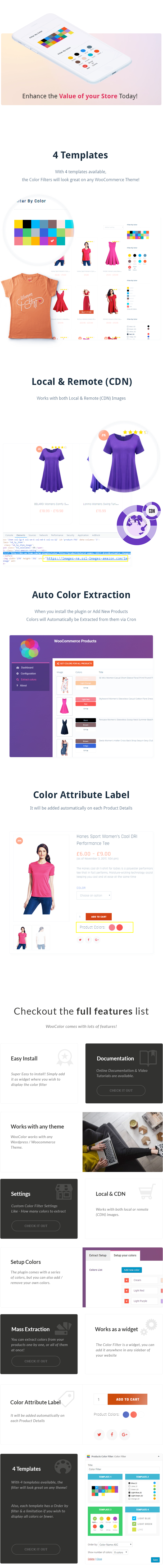 WooCommerce Products Color Filters – WP Plugin - 1