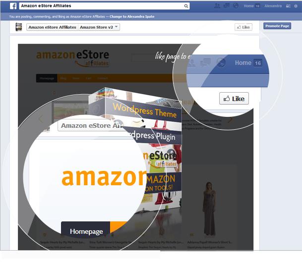 Amazon eStore Affiliates Plugin - 12 amazon estore affiliates plugin - facebook - Amazon eStore Affiliates Plugin